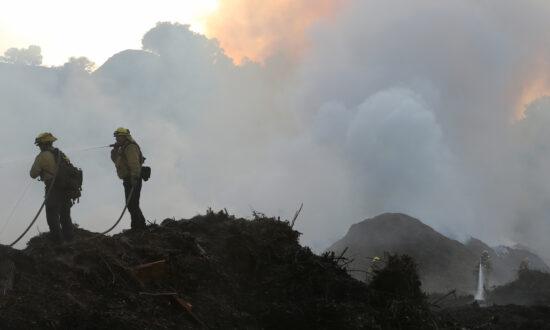 8,800-Acre Saddle Ridge Fire 90 Percent Contained