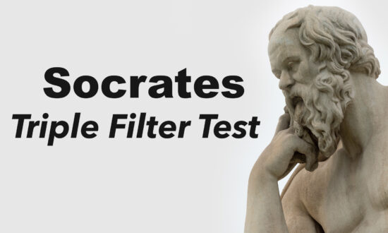 Socrates's 'Triple Filter Test': A Path Toward Righteous Living