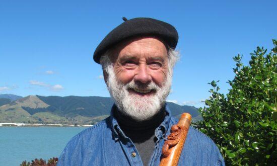 Brian Flintoff, Master Carver of Maori Musical Instruments