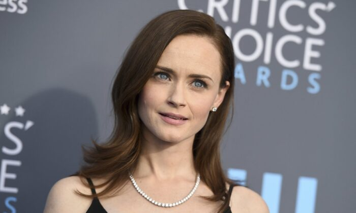 Alexis Bledel at the 23rd annual Critics' Choice Awards in Santa Monica, Calif., on Jan. 11, 2018. (Strauss/Invision/AP)