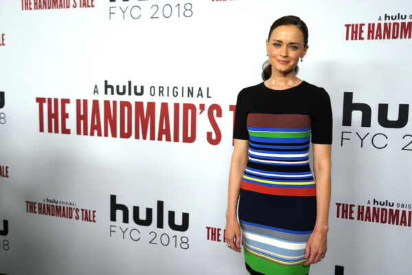 Alexis Bledel attends Hulu's 'The Handmaid's Tale'