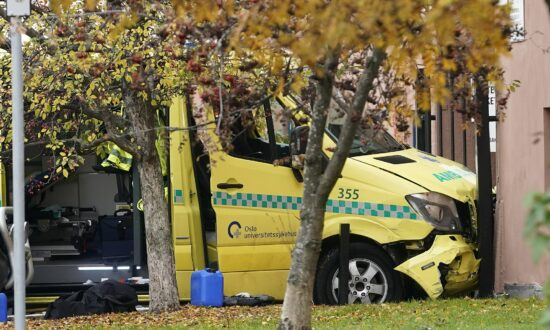 Man Drives Stolen Ambulance Into Family in Oslo, Injuring 2 Babies