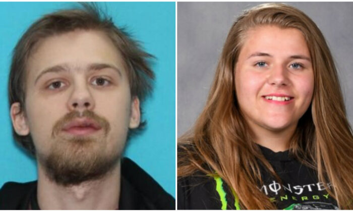 (L) Bradley Walters and (R) Lacey Jeffries. (Kootenai County Sheriff's Office)