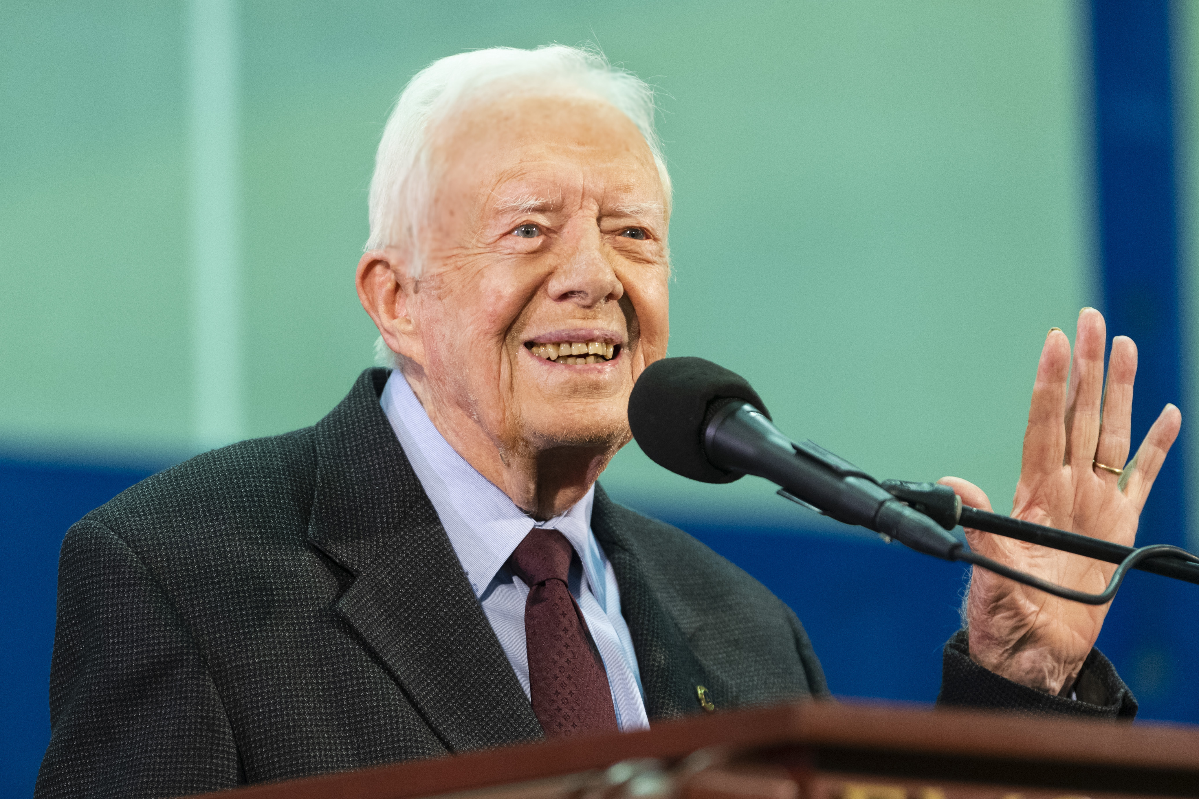jimmy carter released from hospital