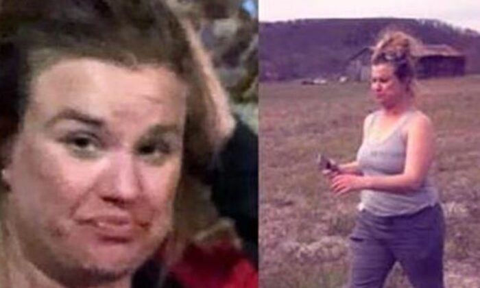 Andrea Knabel in two file photographs recently released by police. (Louisville Police Department)