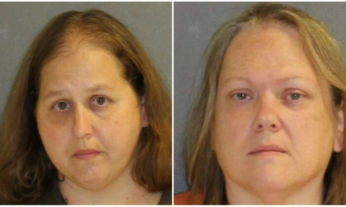 (L-R) Susan Nelson and Melissa Hamilton. (Edgewater Police Department)