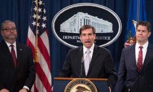 DOJ Confronts Chinese Infiltration With String of Spy Arrests