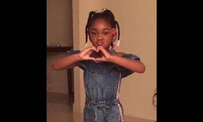 Nevaeh Lashy Adams, 5, went missing in Sumter, South Carolina as her mother was found dead in August 2019. Nevaeh Adam's body was found Oct. 22, 2019, police say. (Sumter Police Department)