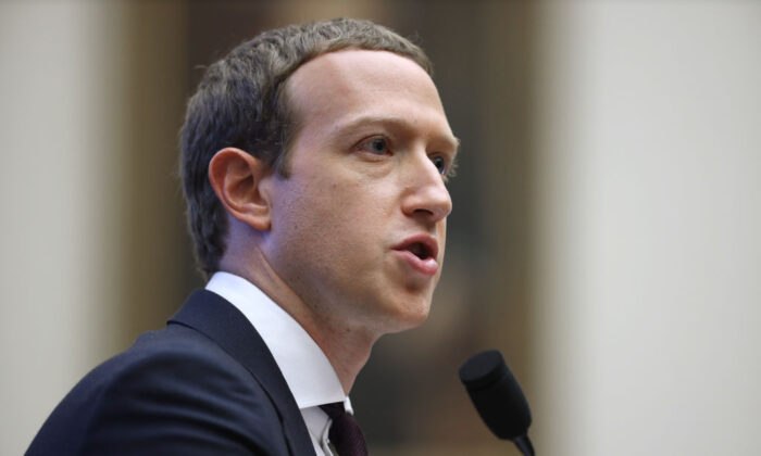 Facebook co-founder and CEO Mark Zuckerberg testifies before the House Financial Services Committee  on Capitol Hill on Oct. 23, 2019. (Chip Somodevilla/Getty Images)