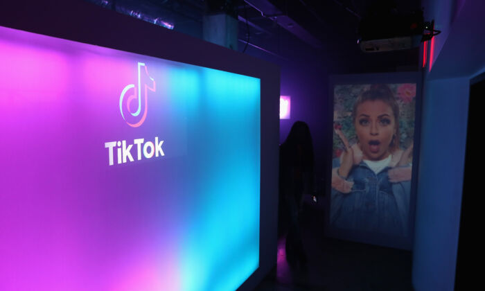 A general view of the atmosphere during the TikTok US launch celebration at NeueHouse Hollywood in Los Angeles, California on August 1, 2018. (Joe Scarnici/Getty Images)