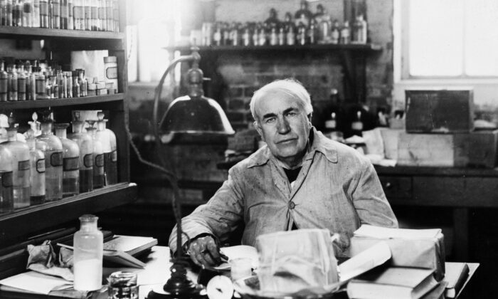 Thomas Edison was famous for not letting failure deter him. (Keystone/Getty Images)