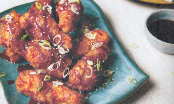 Judy Joo's Korean fried chicken. (Yuki Sugiura)