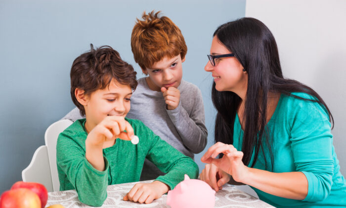 You can teach young children about money smarts today, but you won't know for years whether those habits have actually taken root. (Shutterstock)