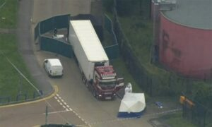 UK Police Charge Man With Human Trafficking Offenses in Vietnamese Truck Deaths Inquiry