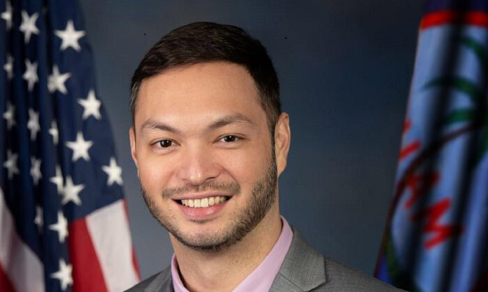 Michael San Nicolas, a Democratic delegate representing Guam, in a file photograph. (Congressman Michael San Nicolas' Office)