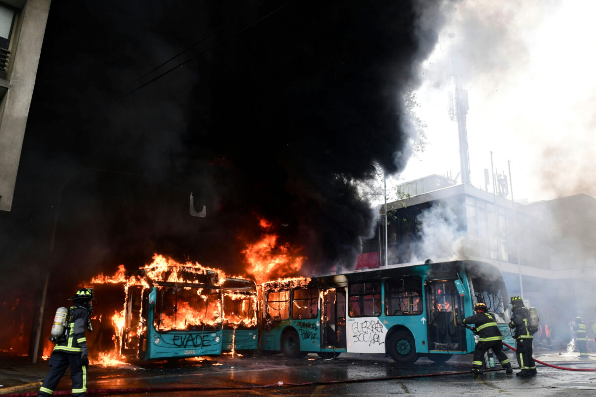 Expensive Climate Policies Sparked Chile Riots, Just Like France's Yellow Vest Protests