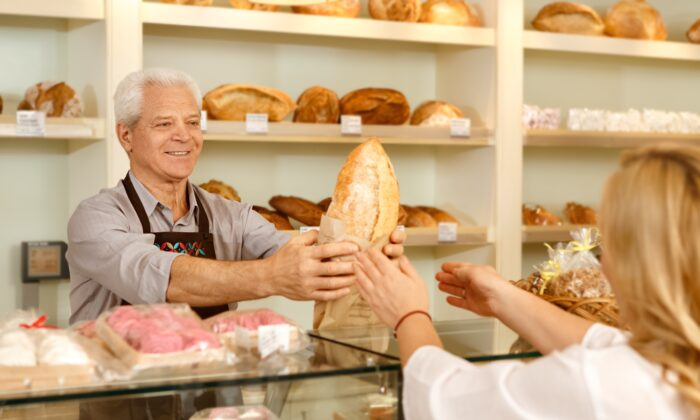For some people, being a baker is a job. For others, it is an opportunity to create exceptional food in service of the people who patronize their bakery. Purpose can invest any job with additional meaning and joy. (Nestor Rizhniak/Shutterstock)
