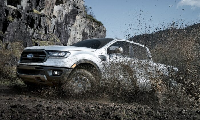 2019 Ford Ranger Lariat SuperCab. (Courtesy of Ford)