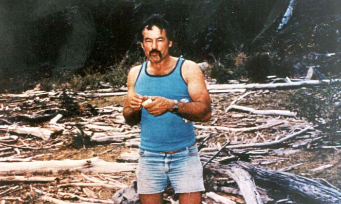 A supplied undated image shows Australian serial killer Ivan Milat, who murdered seven young backpackers south of Sydney in the early 1990s. Milat died in prison from oesophagus and stomach cancer on Oct. 27, 2019.(AAP Image/Supplied)