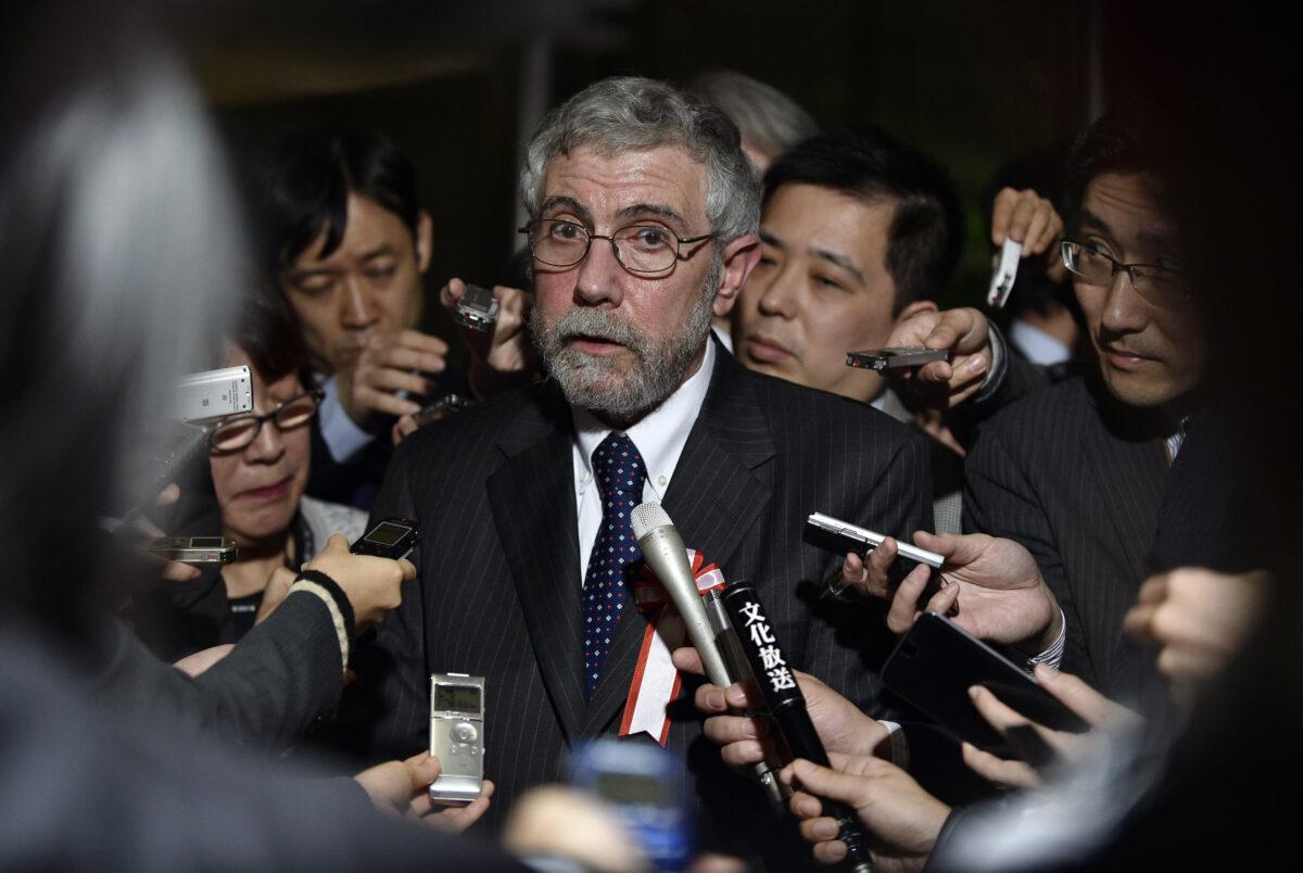 Economist and Nobel-prize winner Paul Krugman