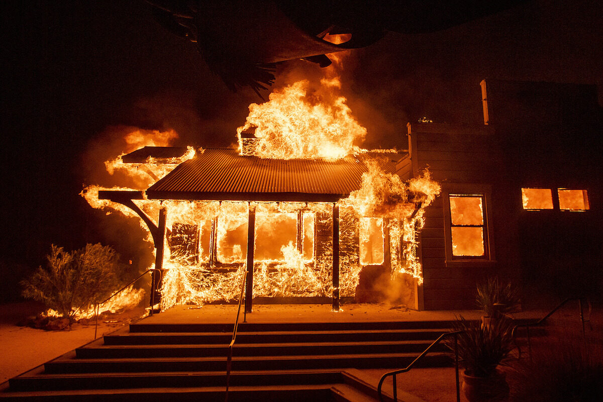 Strong winds fuel wildfires in California