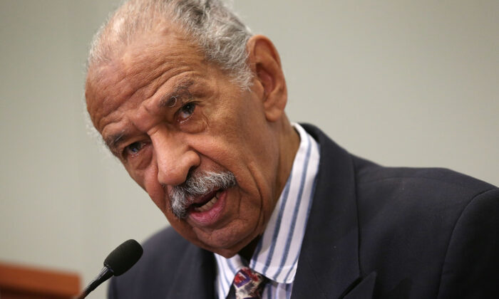 U.S. Rep. John Conyers (D-MI) speaks at a session during the Congressional Black Caucus Foundation's 45th annual legislative conference on Sept. 18, 2015 in Washington, DC. (Alex Wong/Getty Images)