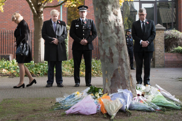 PM Johnson And Home Secretary Patel Sign Book Of Condolence For Essex Lorry Victims