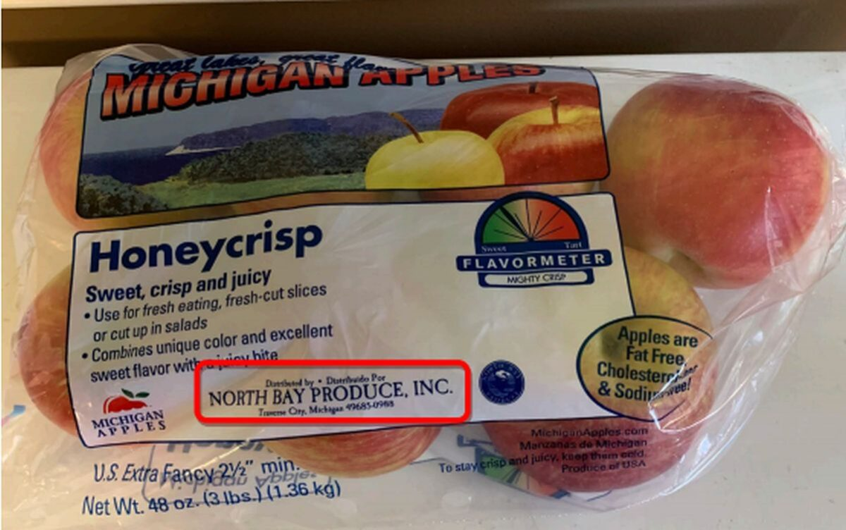 Michigan apple recall: Nearly 2,300 crates could be contaminated with listeria