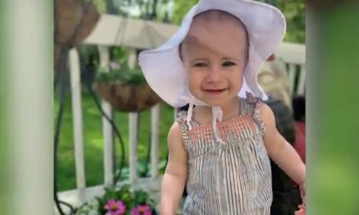 18-month-old Chloe, who fell to her death from the window of a cruise ship docked in San Juan, Puerto Rico, in July. (Wiegand Family)