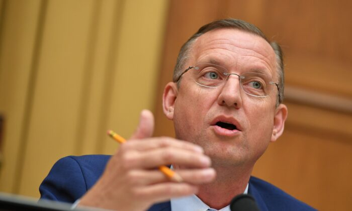 Rep. Doug Collins (R-Ga.) speaks during a hearing on Capitol Hill in Washington in a file photograph. (Mandel Ngan/AFP/Getty Images)