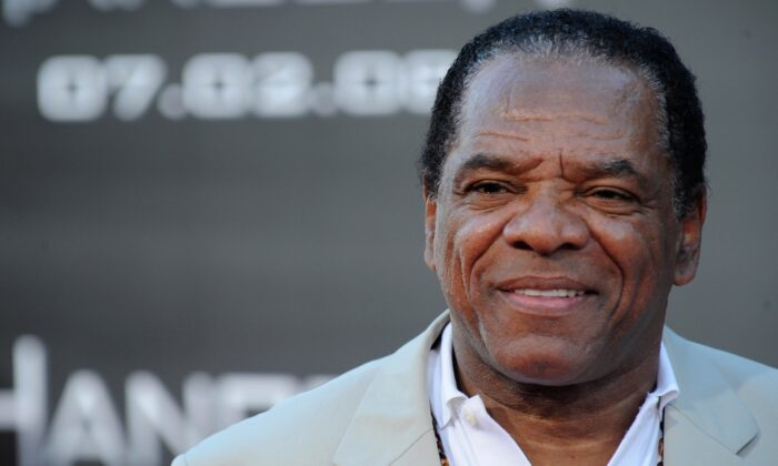 """Actor John Witherspoon arrives on the red carpet at the world premiere of Columbia Pictures' """"Hancock,"""" at Grauman's Chinese Theatre in Hollywood, California, on June 30, 2008. (Robyn Beck /AFP via Getty Images)"""