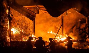 Fires Rage in California as Power Blackouts Fail to Prevent Disaster