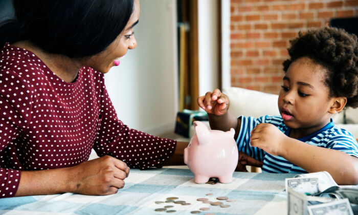 You can think of chores and an allowance as your kid's first paying job, says Murset, with you as the employer. (Shutterstock)