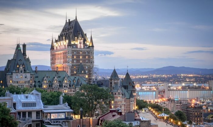 Chateau Frontenac figures prominently in iconic views of Quebec City. (Shutterstock)