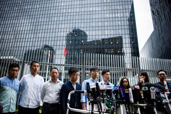 HONG KONG-CHINA-POLITICS-UNREST-ELECTION