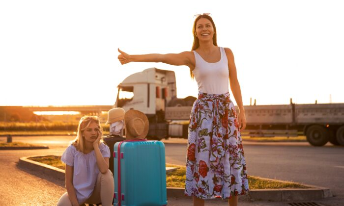 A breakdown on a road trip can be a tragedy for some and a whole new adventure for others. (borevina/Shutterstock)