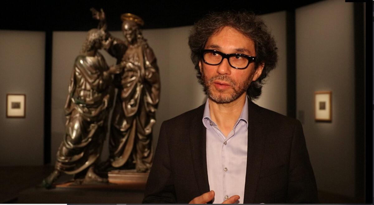 Louis Frank, curator of the Louvre exhibition of Leonardo da Vinci