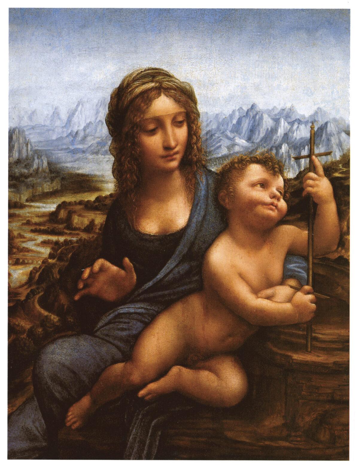 """Madonna of the Yarnwinder,"