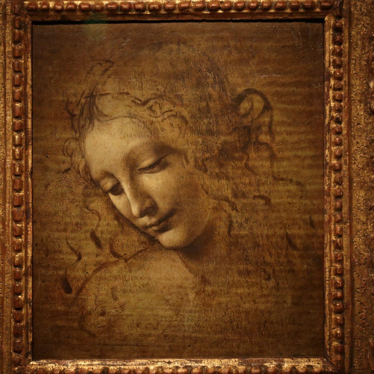 La Scapiliata by da Vinci