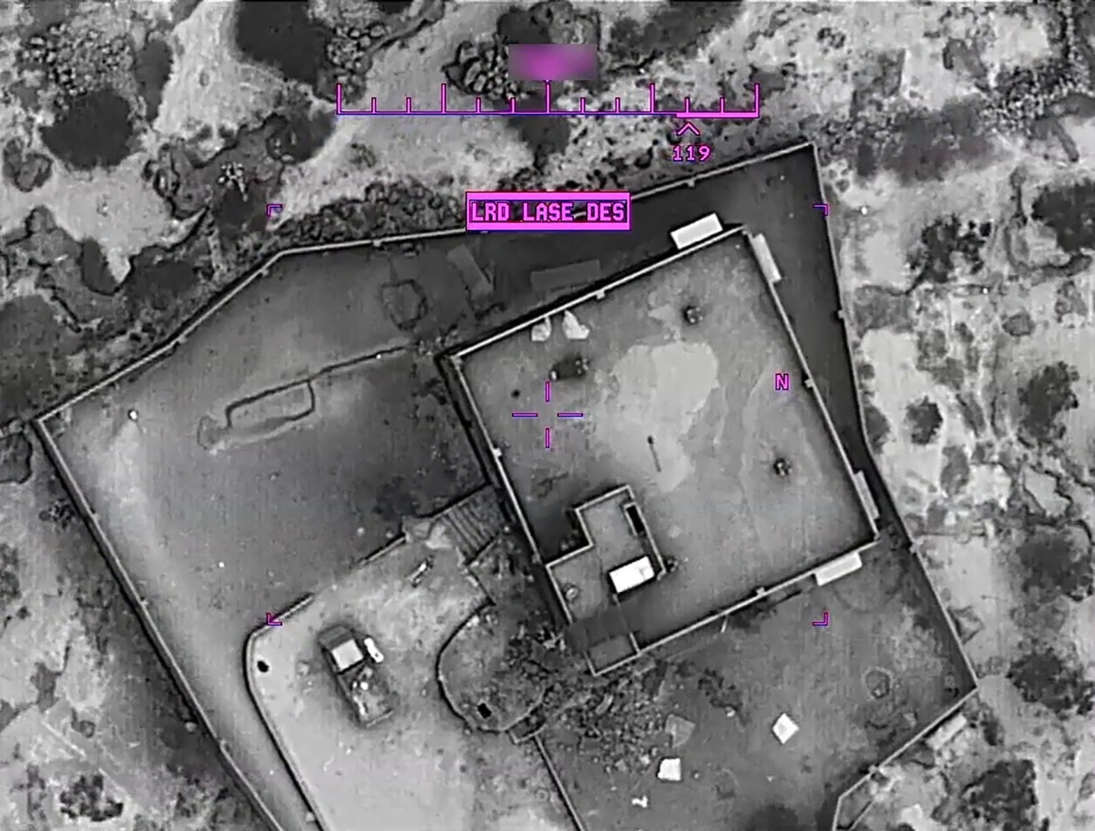 compound of ISIS leader al-Baghdadi