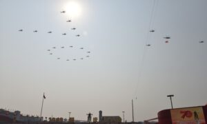 Crash of Military Helicopter During a Drill in China Causes 11 Deaths