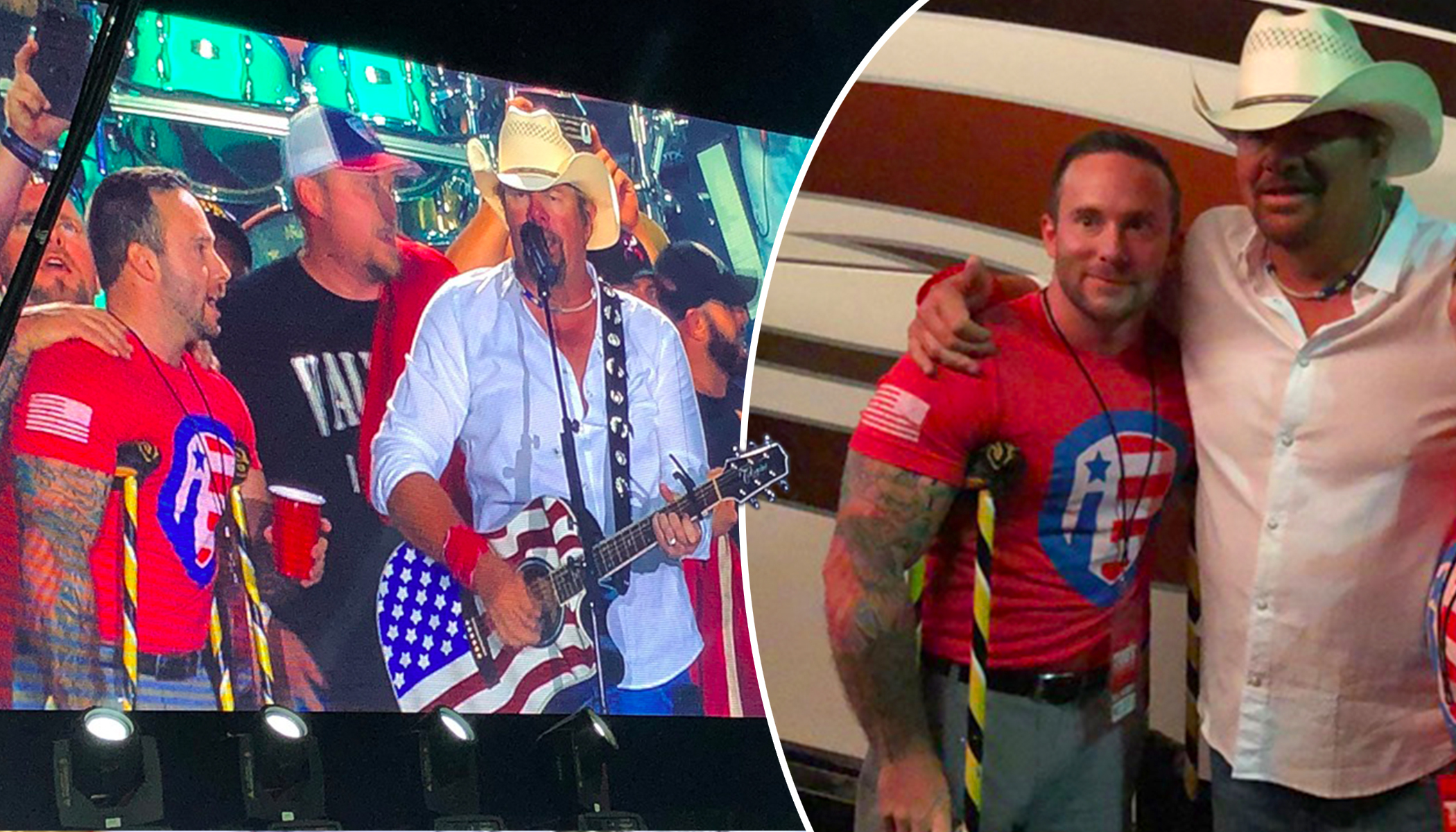 Country Singer Toby Keith Gifts All-Terrain Wheelchair to Wounded Marine Veteran