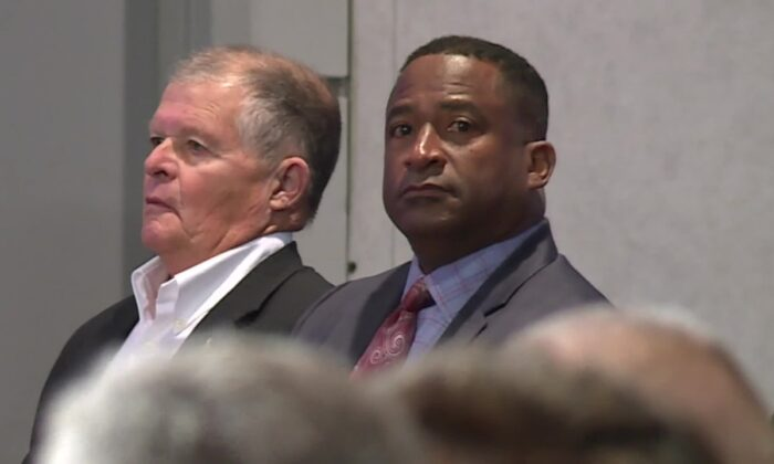 The Palm Beach County School Board voted 5-2 to terminate the employment of William Latson (R) as school principal effective on Nov. 21. (Photo: WPTV/Palm Beach Co. Schools)