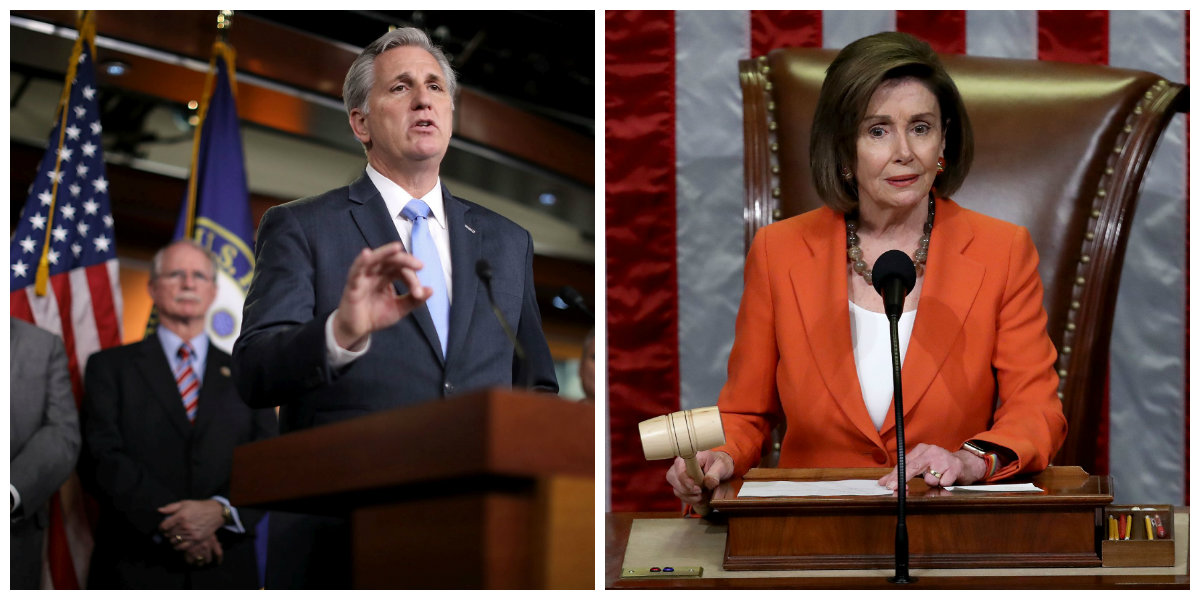 House GOP Leader on Impeachment Vote: 'Only Bipartisan Vote on That Floor Was Against'