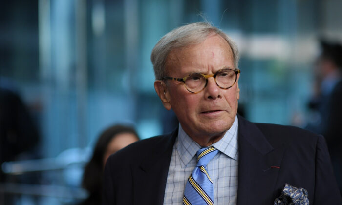 Tom Brokaw in a 2017 file photograph. (Mike Coppola/Getty Images)