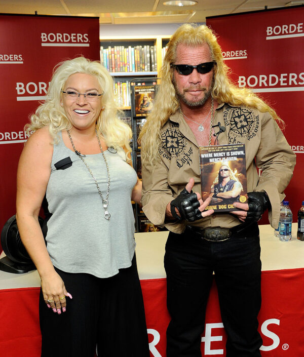 Media personality Duane Chapman and wife Beth