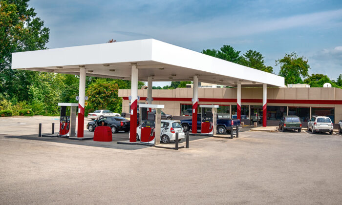 A gas station in a file photo. (Illustration - Shutterstock)
