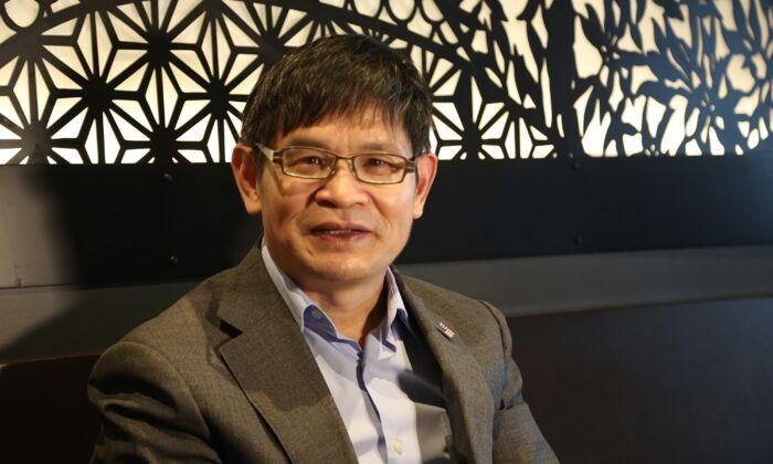 Daniel Lou. (Shi Ping/The Epoch Times)
