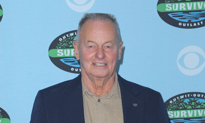 "Rudy Boesch arrives at the CBS ""Survivor"" 10 Year Anniversary Party in Los Angeles, California, on Jan. 9, 2010. (Jason Merritt/Getty Images)"