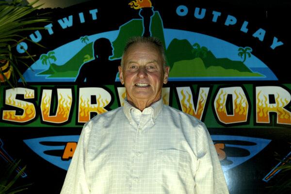 Survivor All-star Rudy Boesch